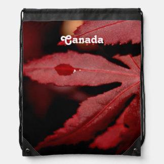 Arce rojo mochilas