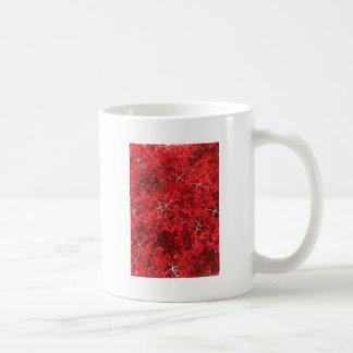 Arce rojo y nuez taza de café