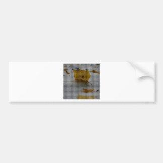 Arce tejido pegatina para auto