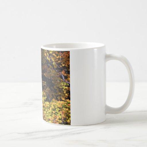 Arces del otoño de Michigan Taza De Café