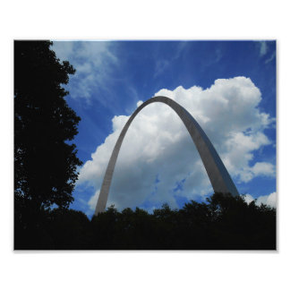 Arch and Blue Skies Photo Print