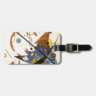 Arch and Point Luggage Tag