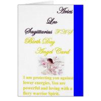 Arch Angel MICHAEL Aries,Leo, Sagittarius Cards