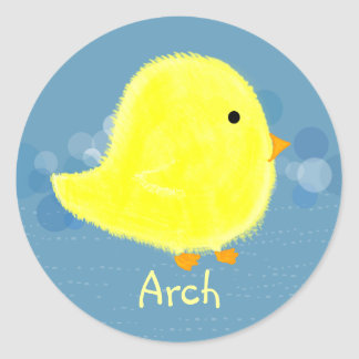 Arch Baby Chick Stickers