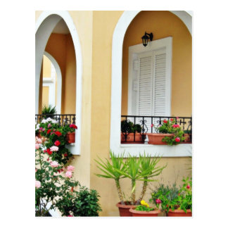 Arch Barrel Of Holiday House In Greece Postcards