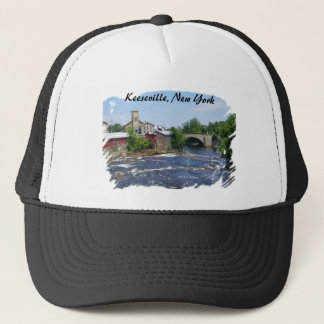 Arch Bridge , Keeseville, New York Trucker Hat