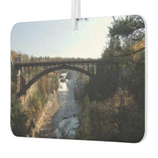 Arch Bridge over Ausable Chasm Air Freshener