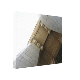 Arch Stretched Canvas Print