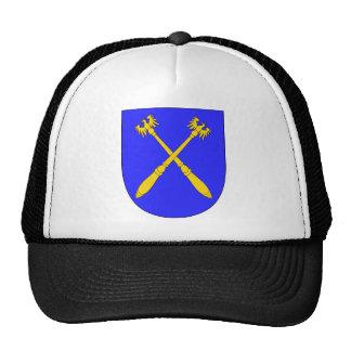 Arch Chamberlain Arms Escutcheon Holy Roman Empire Mesh Hat