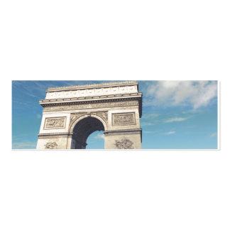 Arch de Triumph Mini Business Card