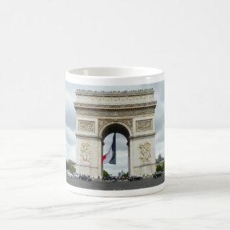 Arch de Triumph Classic White Coffee Mug