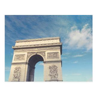 Arch de Triumph Tarjeta Postal