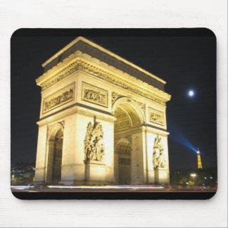 Arch De Triumphe Mouse Pad