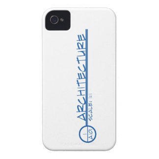 Arch. Drawing Title Blackberry Case (blue)