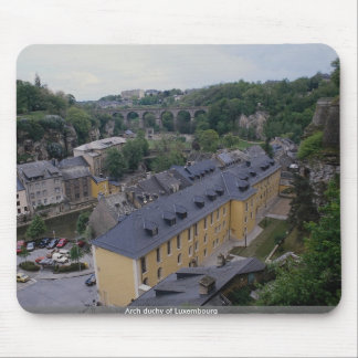 Arch duchy of Luxembourg Mouse Pad