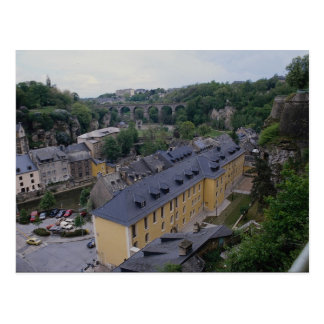 Arch duchy of Luxembourg Postcard