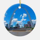 Arch-from-boat Ceramic Ornament