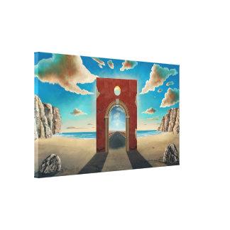 Arch Gate Canvas Print