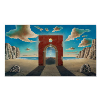 Arch Gate Poster