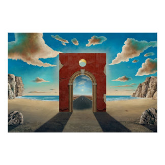 Arch Gate Perfect Poster