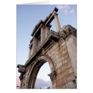 arch hadrian stone card
