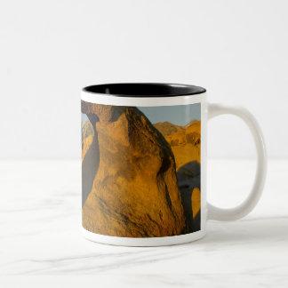 Arch in Alabama Hills Eastern Sierras near Lone Two-Tone Coffee Mug