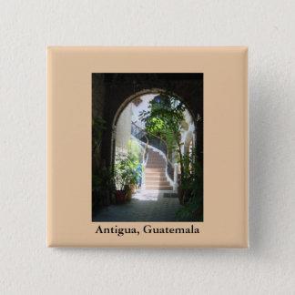 Arch in Antigua Pinback Button