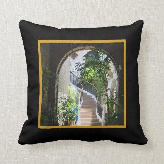 Arch in Antigua Throw Pillow