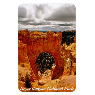 ARCH IN BRYCE CANYON NATIONAL PARK RECTANGULAR PHOTO MAGNET