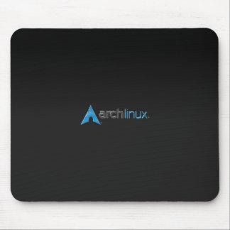 Arch Linux black Mouse Pads