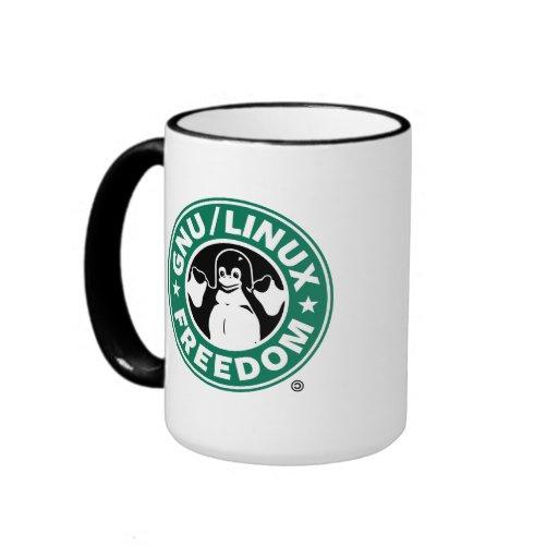 Arch linux / GNU freedom mug Kaffee Tassen