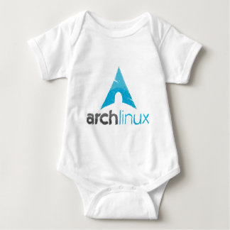 Arch Linux Logo Baby Bodysuit