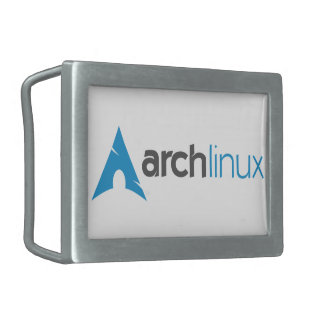 Arch Linux Logo Belt Buckle