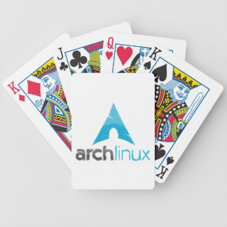 Arch Linux Logo Bicycle Playing Cards