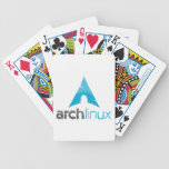 Arch Linux Logo Bicycle Poker Cards