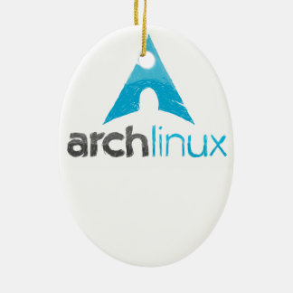 Arch Linux Logo Ceramic Ornament
