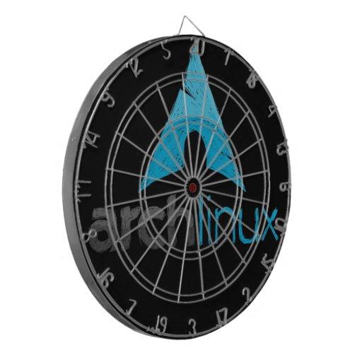 Arch Linux Logo Dart Boards