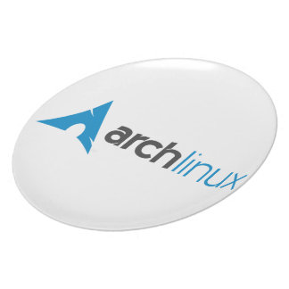 Arch Linux Logo Dinner Plate