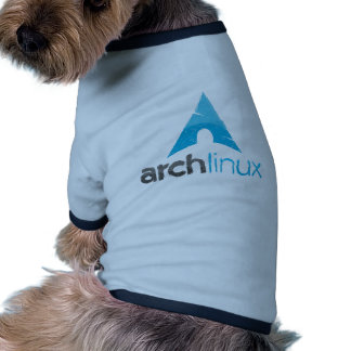Arch Linux Logo Doggie Tee Shirt