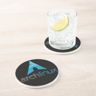 Arch Linux Logo Drink Coaster