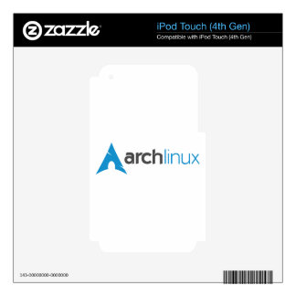 Arch Linux Logo iPod Touch 4G Decal