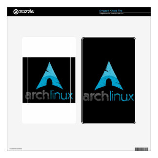 Arch Linux Logo Kindle Fire Decals