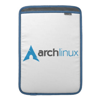 Arch Linux Logo MacBook Sleeves