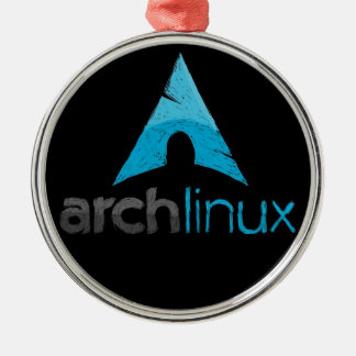 Arch Linux Logo Metal Ornament