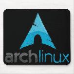 Arch Linux Logo Mouse Pad