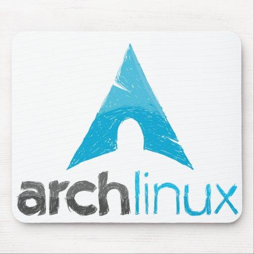 Arch Linux Logo Mousepad