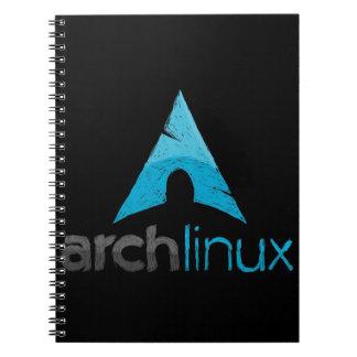 Arch Linux Logo Notebook