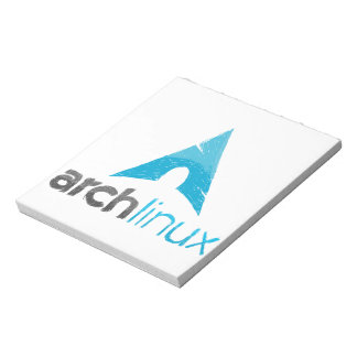 Arch Linux Logo Notepad