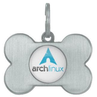 Arch Linux Logo Pet Tag