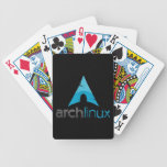 Arch Linux Logo Playing Cards